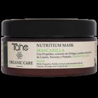 Питательная маска Tahe Mask Nutritium Organic Care для тонких сухих волос