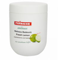 Badesalz Fresh Lemon Соль для ванн с экстрактом лайма