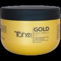 Маска Tahe Gold Mask с жидким золотом и чистым кератином